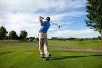 Playing golf safely insured with OP DE BECCK & WORTH Insurance Brokers